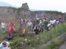 Prehliadka obnovy hradu Kapušany